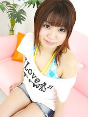 Naked Japanese chick