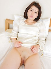 Shaved pussy and tiny tits. Amazing japanese babe Anna Shimizu