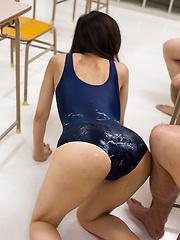 porn japanese spandex