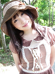 From the second I met Ayame, something about this soft spoken girl reminded me of those famous Japanese Idols from the 80's. Was it her soft porceline skin?