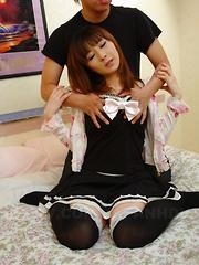 Myuu Tsubaki loves being filled with hot jizz