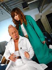 Slutty girl Tsubasa Miyashita enjoys hot sex