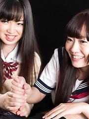 Aoyama Kanon and Aino Neko